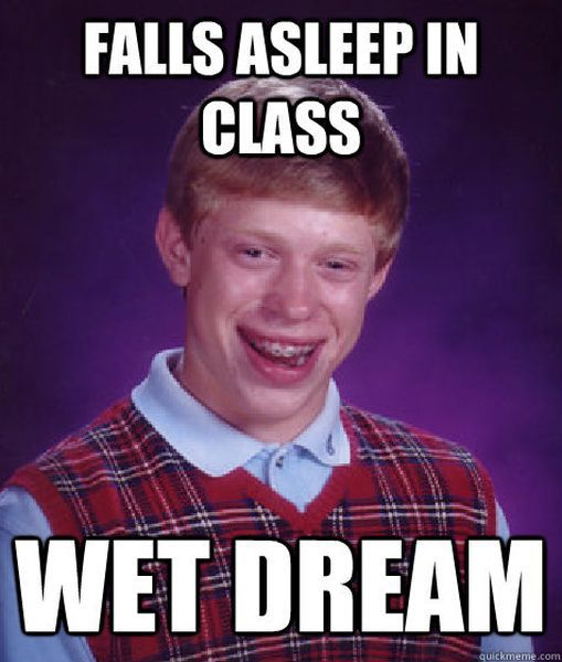 "The Dude We All Got to Know as ""Bad Luck Brian"" Today"