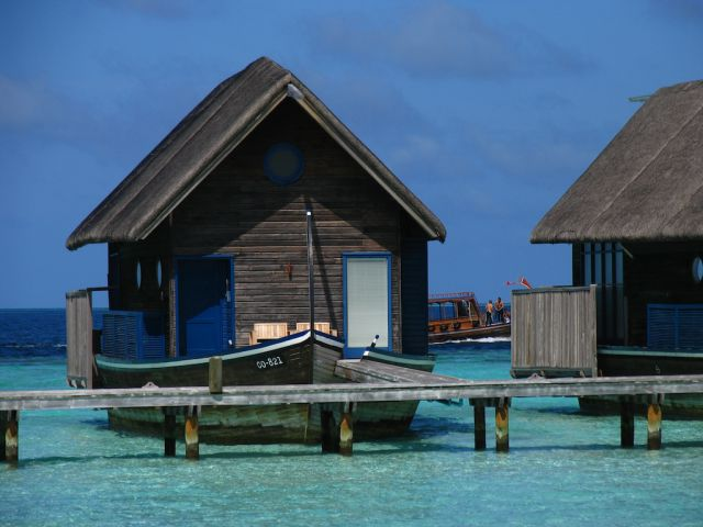 An Unusual and Enticing Boat Hotel in the Maldives