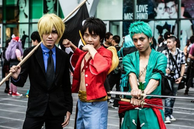 Cool Cosplay Seen at the Anime Festival in Thailand