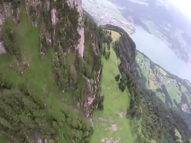 Insane Wingsuit Proximity Flight