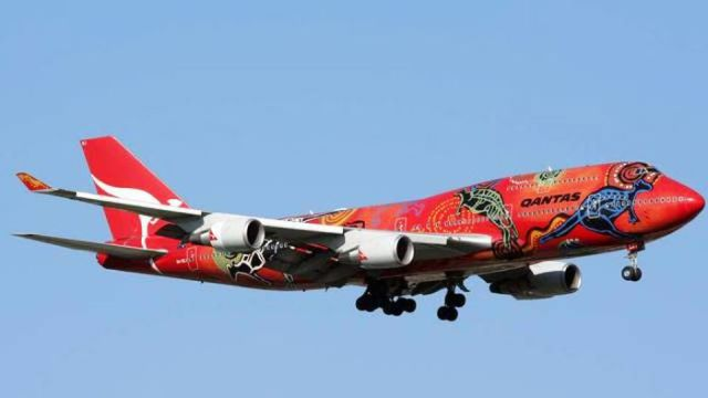 Painted Airplanes Add a Splash of Color to the Sky