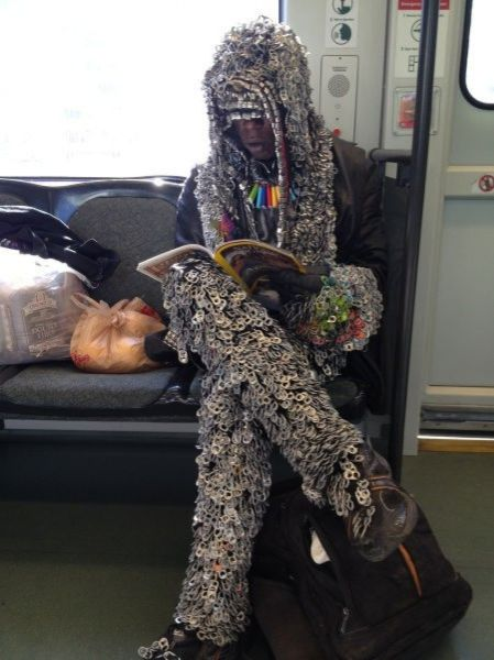 Public Transport Attracts All the Weirdos