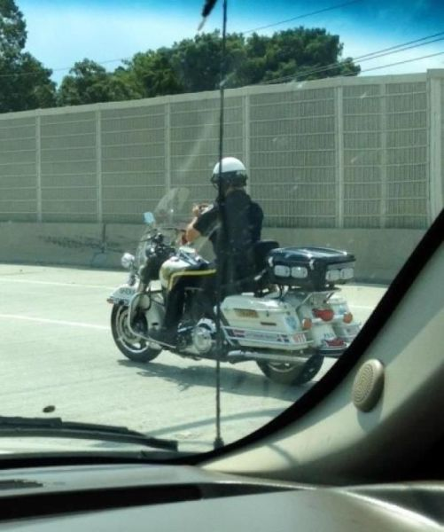 The Daily Life of the Police Officer…