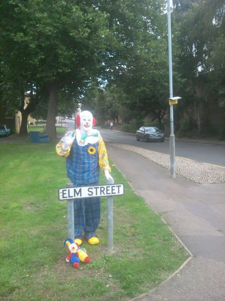 A Scary Sighting in the Village of Northampton