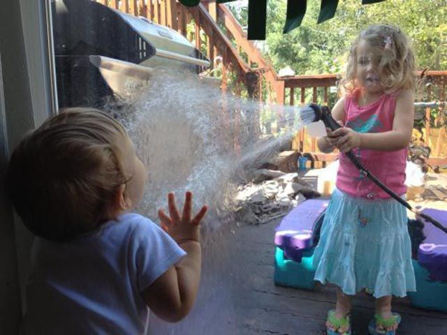 Children Add a Touch of Comedy to Everyday Life