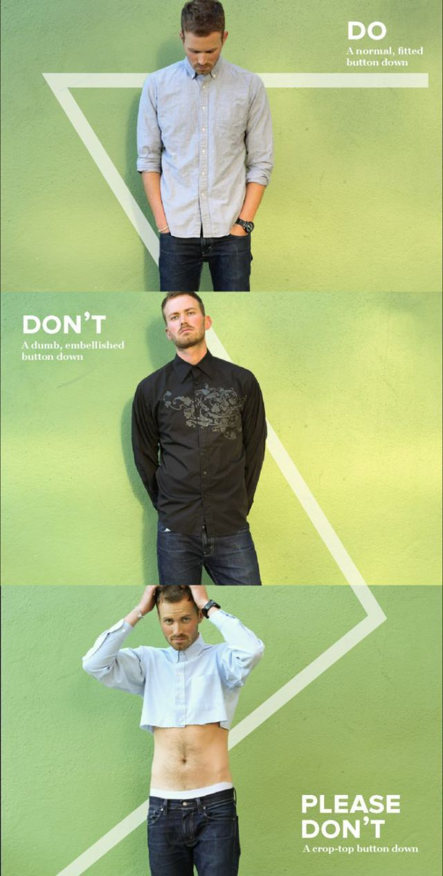 Some Short and Sweet Fashion Tips for Men
