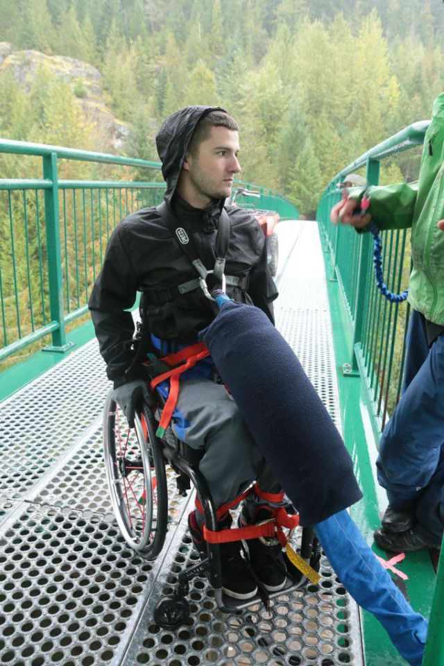 This Wheelchair Bound Dude Is a Definite Thrill-Seeker