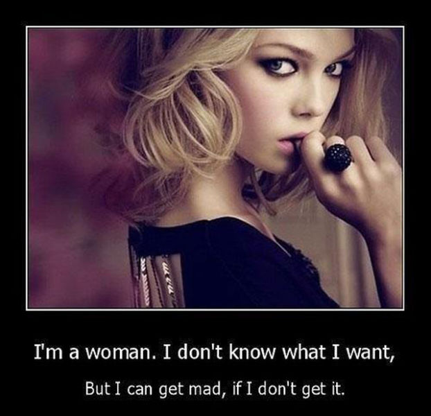 A Woman's Logic Defies Reason