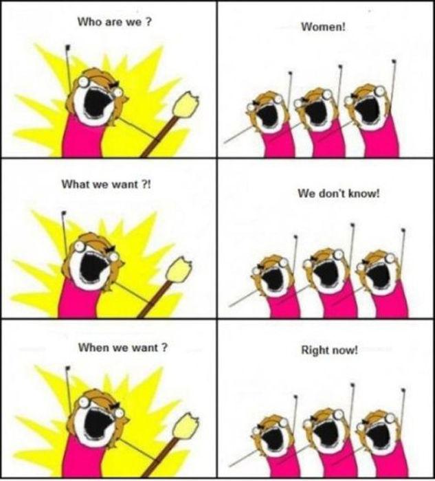 A Woman's Logic Defies Reason
