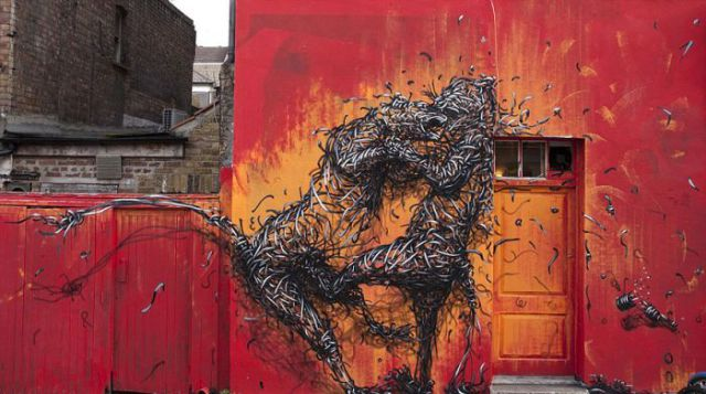 Incredible Lifelike 3D Graffiti Art