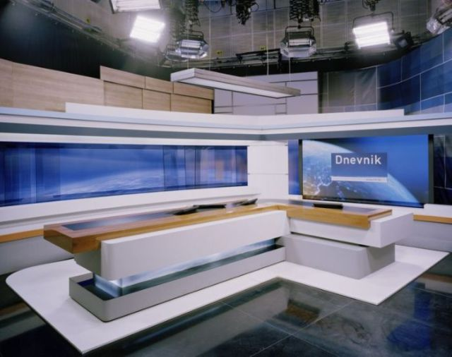 An Inside Look at Various TV Studios from Many Countries Worldwide