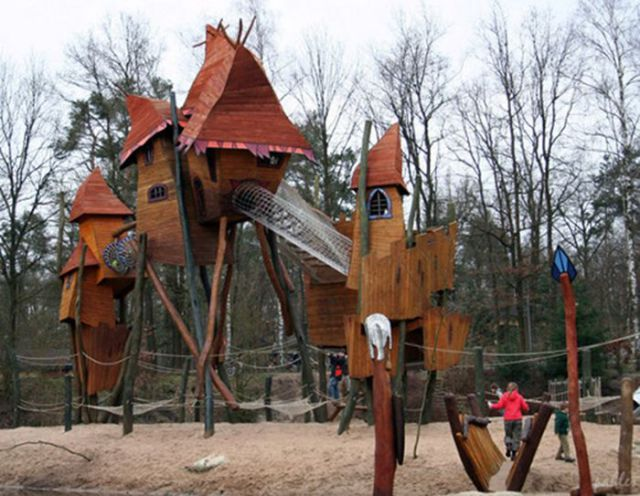 Cool Playgrounds That Will Make You Want to be a Kid Again