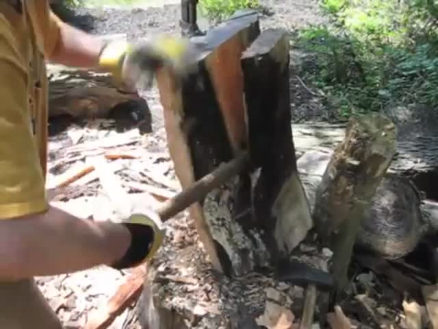 The Fascinating Making of a Rocking Chair with No Power Tools
