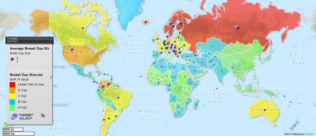 Fun Themed World Maps Will Give You an Unusual Insight into Life on Earth