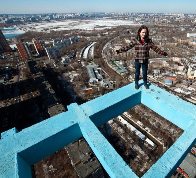 These People Must be Mad to Climb These Structures