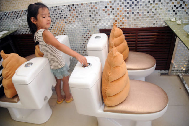 Would You Eat Out Your Food Out of a Toilet?