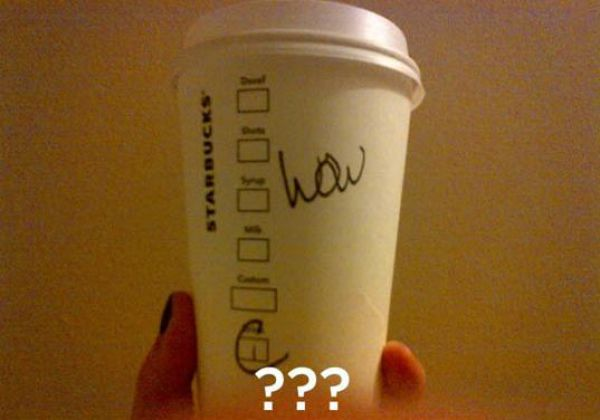 The Worst Spellers of Starbucks