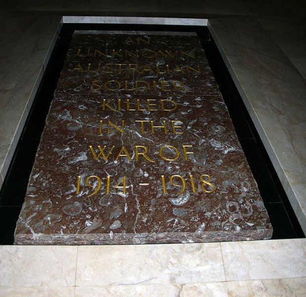 The Worldwide Graves of Unknown War Soldiers