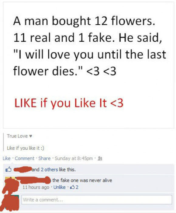 Facebook Posts That Deserve Either a Facepalm or a High Five
