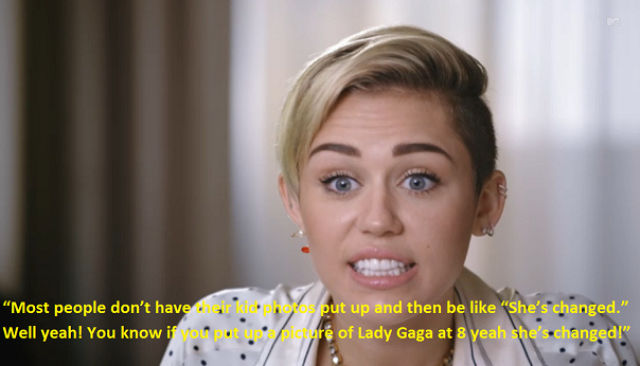 Miley Cyrus Might Want to Rethink This Statement…
