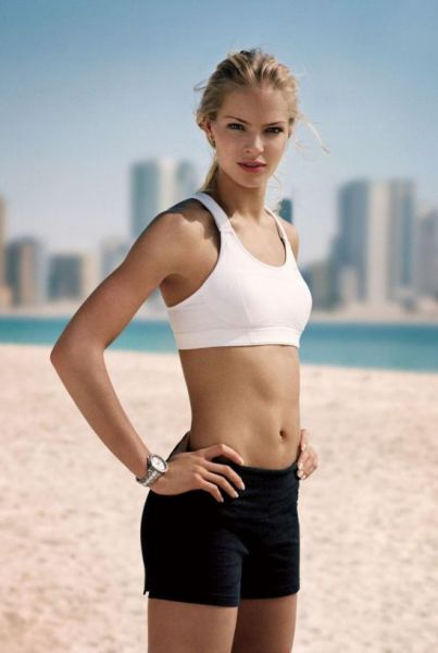 A Cute Blonde Bombshell who Is a Serious Sports Athlete