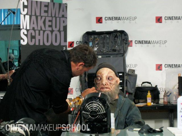 A Gruesome Movie Makeup Transformation of a Rock Star