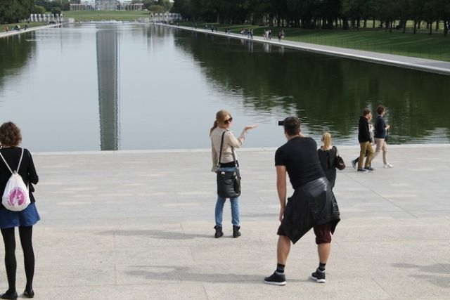 These Tourists Laugh in the Face of the US Government Rules