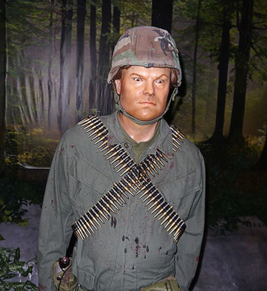 A Few Truly Terrible Wax Sculptures of Hollywood Stars