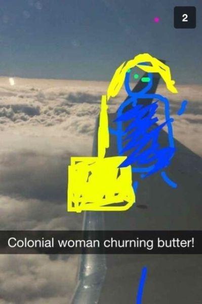 Brilliantly Funny Captioned Snapchats