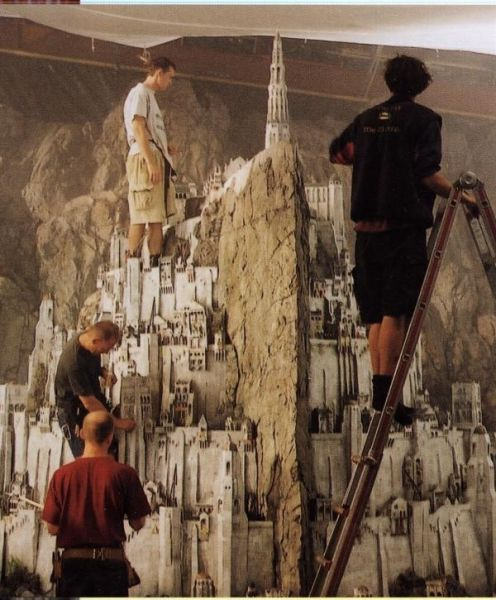 Incredibly Detailed and Excellently Crafted Miniature Movie Sets