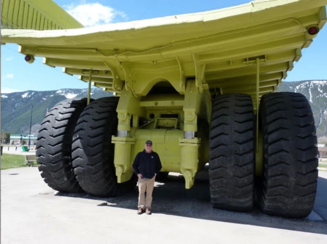 Massive Wheels That You Don't Want to Get in the Way of