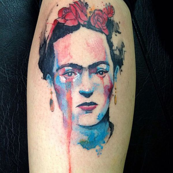 Tattoos Done in the Style of Watercolour Art
