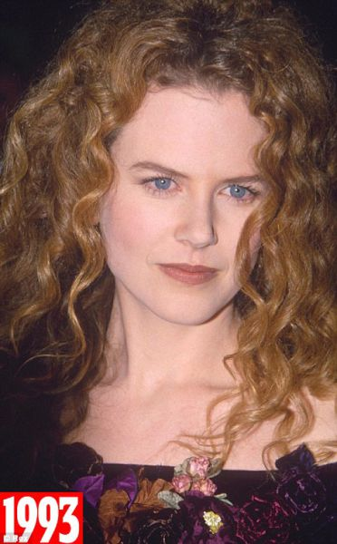 Ageless Beauty Nicole Kidman over 20 Years