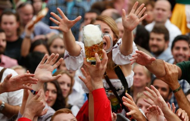 All the Fun and Festivities of Oktoberfest 2013