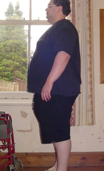 Suicidal Obese Man Becomes Hunky Mr Muscles in 18 Months