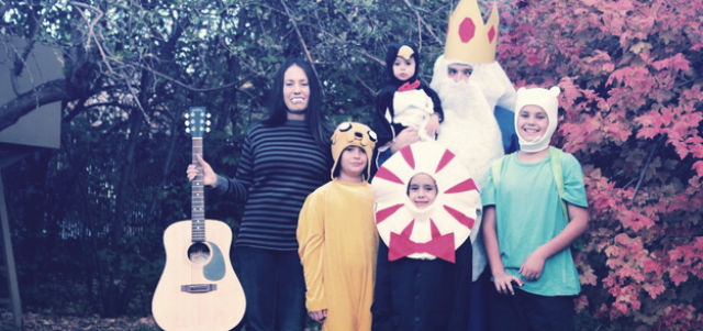 Sweet Family Halloween Costumes That are Corny but Cute