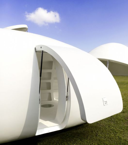 A Stunning Space-Age Spherical Mobile Home