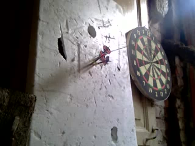 Playing Darts the Russian Way