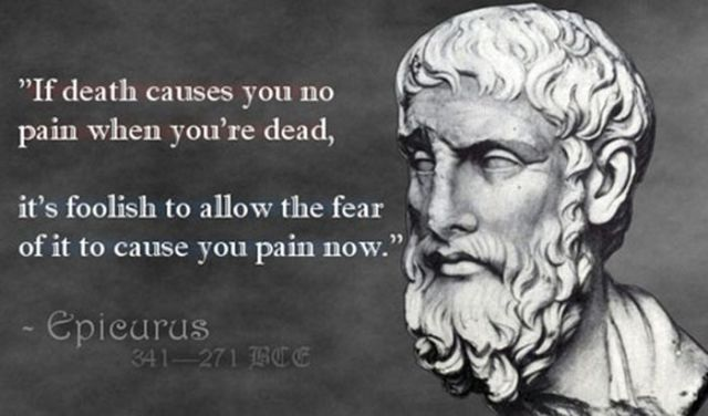 epicurus fear of death essay