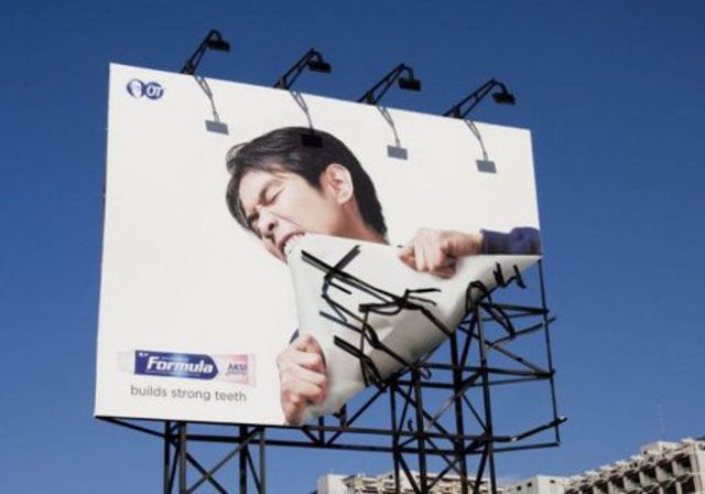 Eye-Catching Advertisements That Are Pretty Clever