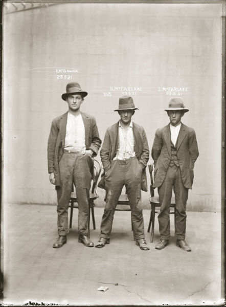 Vintage Mug Shots of 1920s Criminals
