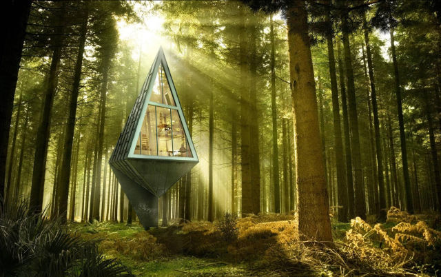Inventive Eco Houses That Would Make a Quaint Modern Hideaway in the Woods