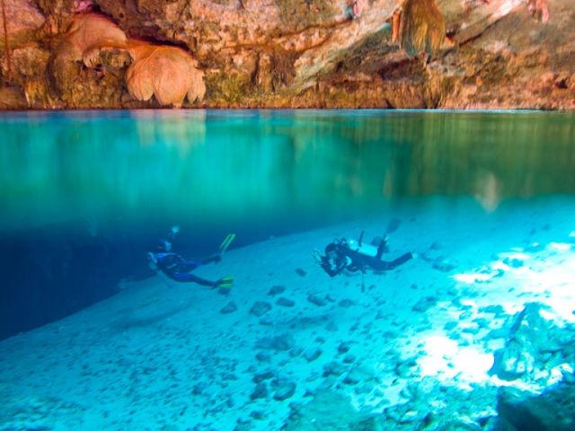 Mexico's Coolest Cavernous Cenotes