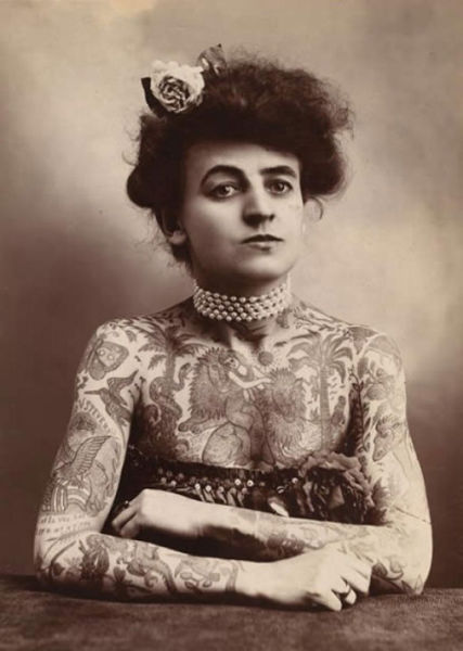 A Revealing Look at Tattoos from a Different Era