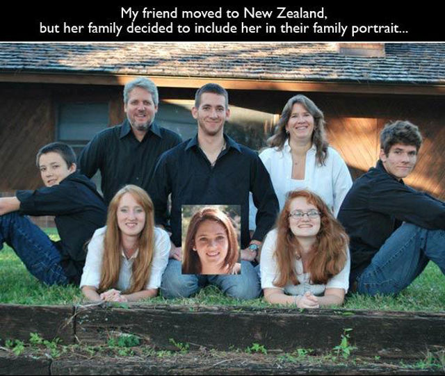 Weird and Kinda Creepy Family Portraits
