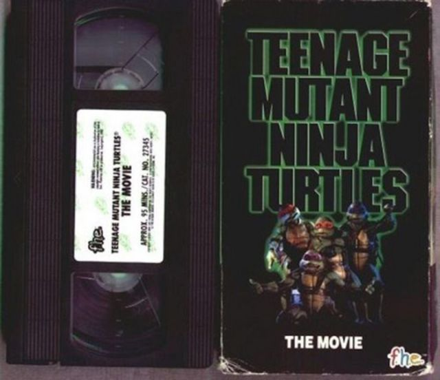 Old-School Video Cassette Tapes from When We Were Kids