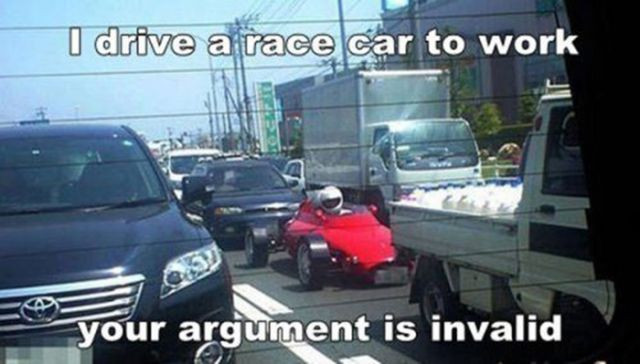It's a Fact…Your Argument Is Invalid