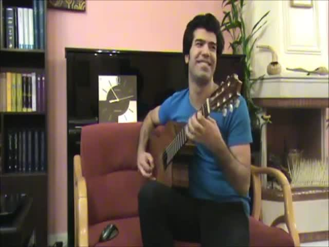 Incredibly Fast Iranian Guitar Player