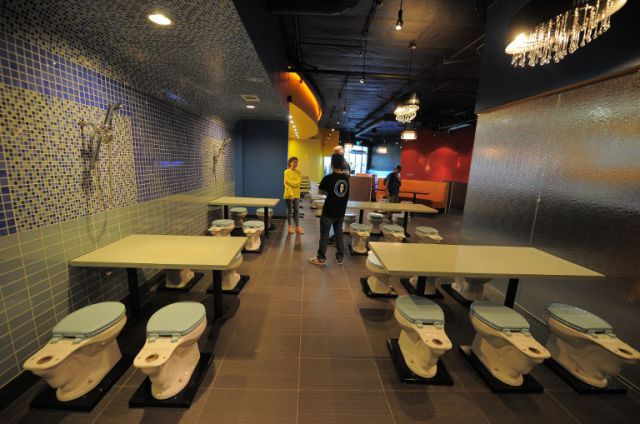 New Toilet-Themed Restaurant in America