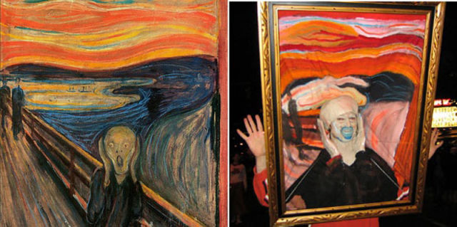 Cool Halloween Costumes Based on Well-Known Art History